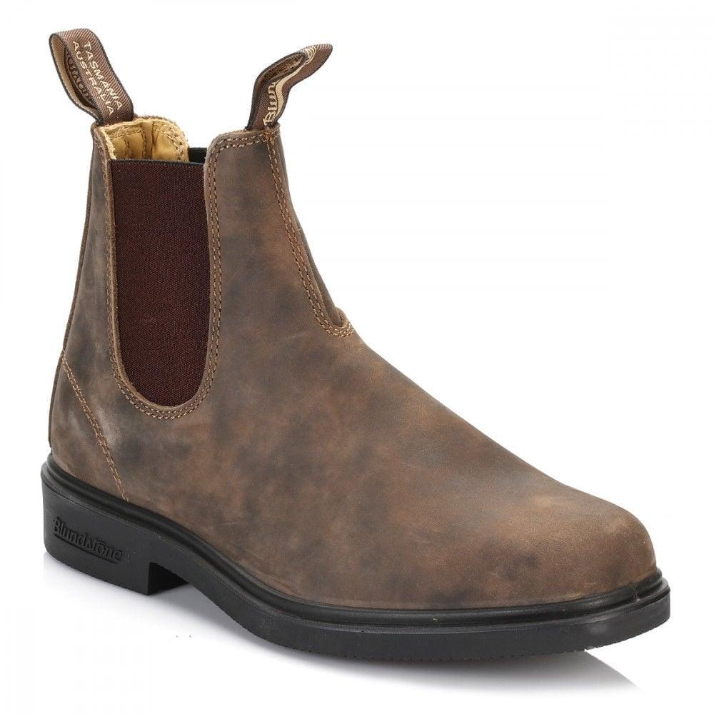 86b874d5536d 1306 Rustic Brown Premium Leather Classic Chelsea Boots Australia
