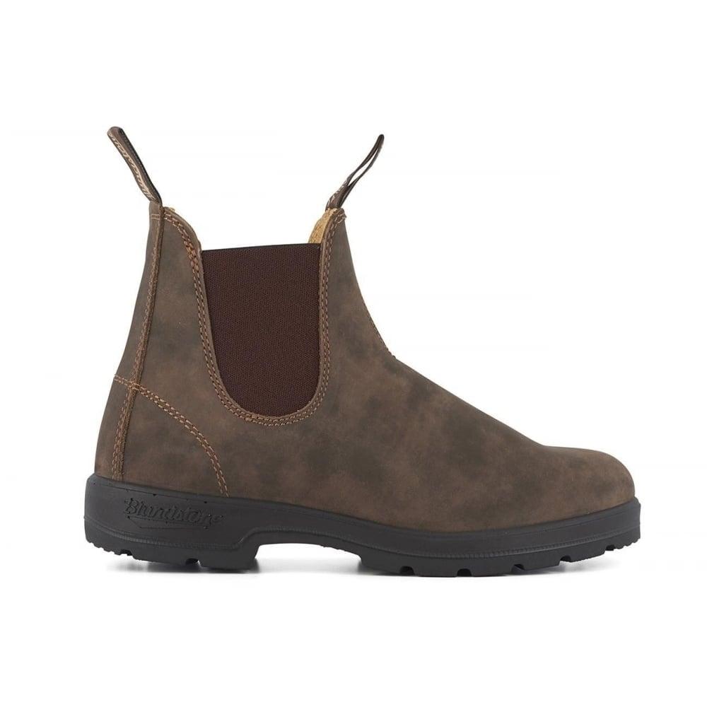 127e09acef8e 585 Rustic Brown Premium Leather Classic Chelsea Boots Australia