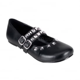 Demonia DAISY-03 Blk Vegan Leather Size UK 8 EU 41 udXPni