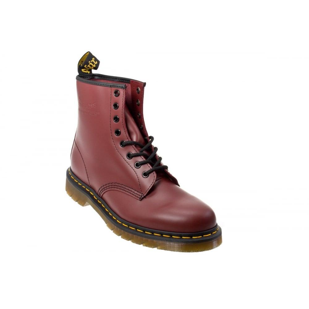 2538538a58 Dr Martens Genuine Classic Biker Cherry 8 Eye Lady Leather Combat Boot  1460Z Rock