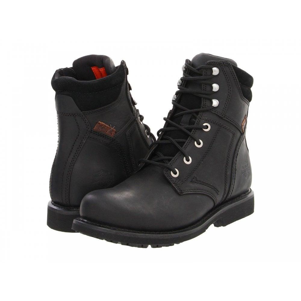 f57c217e87e Harley Davidson Darnel Boots Genuine Men Biker Black Casual Boots Moto High