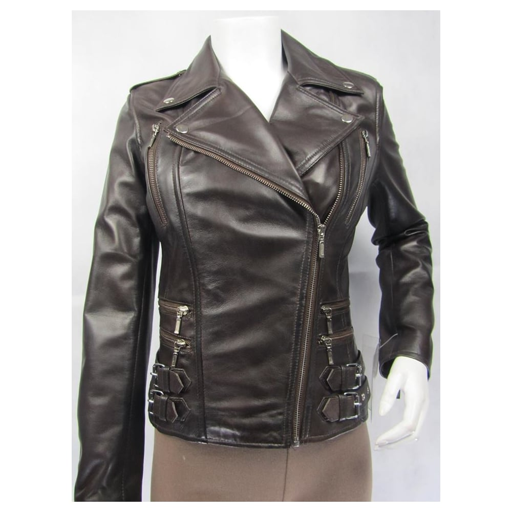laurent stud jacket saint heart jackets studs browns shopping biker at leather