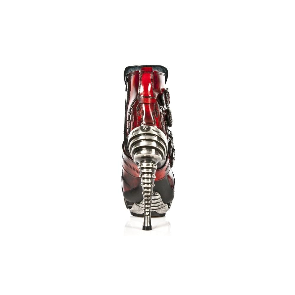 New Rock M Mag005-C3 M Mag005-C3 Pulik Red Magneto Acero Leather Ladies  Magneto