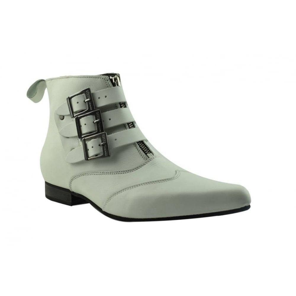 3 Bukle Zip Flat Heel Made