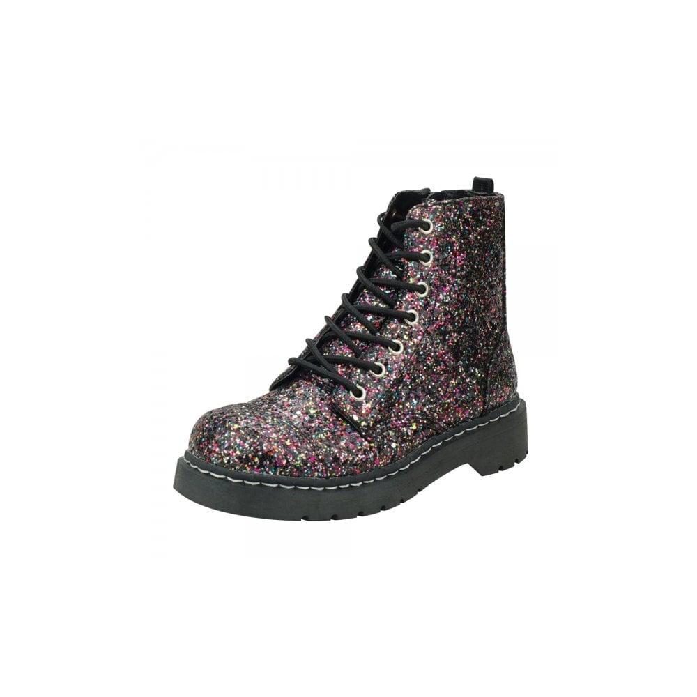 T.U.K. T2215 Ladies Boots Anarchic 7